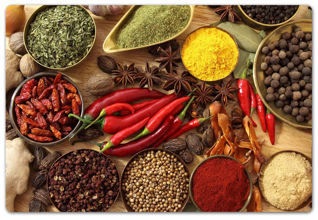 Mixed Herbs and Spices